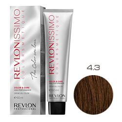 Revlon Professional Revlonissimo Colorsmetique Color & Care - Крем-гель 4.3 Коричневый золотистый 60 мл