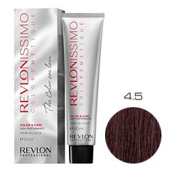 Revlon Professional Revlonissimo Colorsmetique Color & Care - Крем-гель 4.5 Коричневый махагон 60 мл