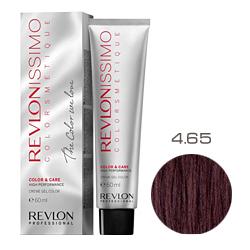 Revlon Professional Revlonissimo Colorsmetique Color & Care - Крем-гель 4.65 Коричневый красно-махагоновый 60 мл