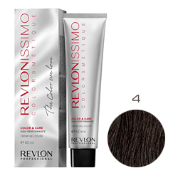 Revlon Professional Revlonissimo Colorsmetique Color & Care - Крем-гель 4 Коричневый 60 мл