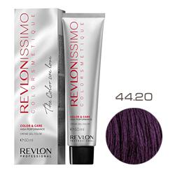 Revlon Professional Revlonissimo Colorsmetique Color & Care - Крем-гель 44.20 Коричневый насыщенно переливающийся 60 мл