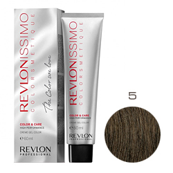 Revlon Professional Revlonissimo Colorsmetique Color & Care - Крем-гель 5 Светло-коричневый 60 мл