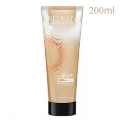 Redken All Soft Deep Conditioning Mega Mask - Маска с двойной формулой для сухих и ломких волос 200 мл