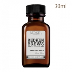 Redken Brews Beard Oil - Масло для бороды и кожи лица 30 мл