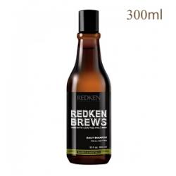 Redken Brews Daily Shampoo - Шампунь для ежедневного ухода за волосами и кожей головы 300 мл