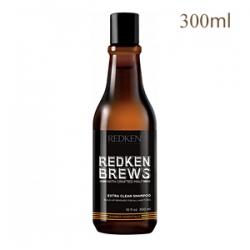 Redken Brews Extra Clean Shampoo - Шампунь для интенсивного очищения 300 мл