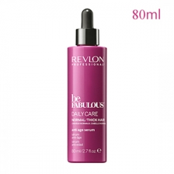 Revlon Professional Be Fabulous C.R.E.A.M. Anti-Age Serum For Normal Thick Hair - Антивозрастная сыворотка для нормальных/густых волос 80 мл
