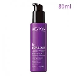 Revlon Professional Be Fabulous Hair Recovery Damaged Hair Ends Repair Serum - Восстанавливающая сыворотка для поврежденных кончиков волос с кератином 80 мл