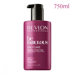 Revlon Professional Be Fabulous Daily Care Normal Thick Hair C.R.E.A.M. Conditioner - Кондиционер для нормальных и густых волос 750 мл