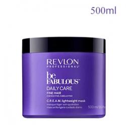 Revlon Professional Be Fabulous Daily Care Fine Hair C.R.E.A.M. Lightweight Mask - Ухаживающая маска для тонких волос 500 мл