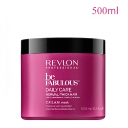 Revlon Professional Be Fabulous Daily Care Normal Thick Hair C.R.E.A.M. Mask - Маска для нормальных и густых волос 500 мл