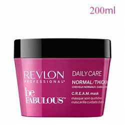 Revlon Professional Be Fabulous Daily Care Normal Thick Hair C.R.E.A.M. Mask - Маска для нормальных и густых волос 200 мл