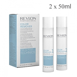 Revlon Professional Technics Color Remover - Средство корректирующее уровень красителя для волос 2 х 50 мл