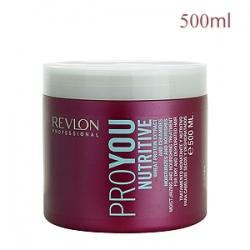 Revlon Professional Pro You Nutritive Treatment - Маска увлажняющая и питательная 500 мл