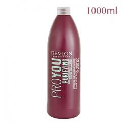 Revlon Professional Pro You Purifying Shampoo - Шампунь для жирных волос очищающий 1000 мл