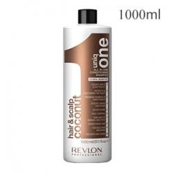 Revlon Professional Uniq One All In One Conditioning Shampoo Coconut - Шампунь-кондиционер для волос и кожи головы 1000 мл