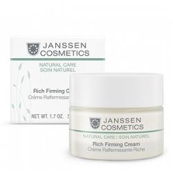Janssen Cosmetics Organics Rich Firming Cream - Обогащенный Увлажняющий Лифтинг-Крем 50 мл