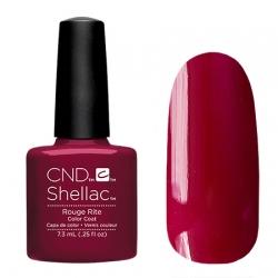 CND Shellac Rouge Rite - Гель-лак для ногтей 7,3 мл насыщенный вишневый оттенок