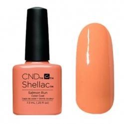 NEW Весна 2015! CND Shellac цвет Salmon Run гель-лак 7,3 мл пастельный персиковый, эмаль.