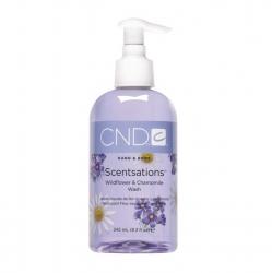 CND Scentsations Wildflower & Chamomille Wash - Мыло для рук и тела «Полевые цветы - Ромашка» 245 мл