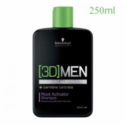 Schwarzkopf Professional [3D]Men Hair Growth Activating Shampoo - Шампунь для активации роста волос 250 мл