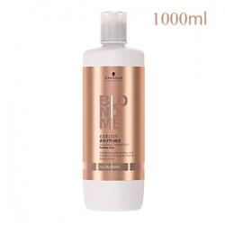 Schwarzkopf Professional BlondMe Keratin Restore Bonding Shampoo Sulfate-free All Blondes - Бондинг-шампунь кератиновое восст. для светлых волос 1000 мл