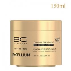 Schwarzkopf Professional Bonacure Excellium Taming Treatment - Маска смягчающая для жестких зрелых окрашенных волос 150 мл