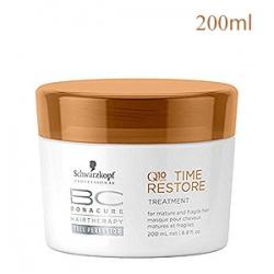 Schwarzkopf Professional Bonacure Time Restore Treatment - Маска Возрождение для нормальных и сухих волос 200 мл
