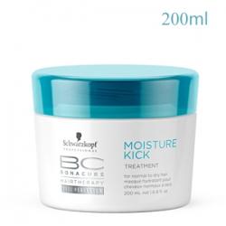 Schwarzkopf Professional Bonacure Moisture Kick Treatment - Маска глубоко увлажняющая для нормальных, сухих, ломких или кудрявых волос 200 мл