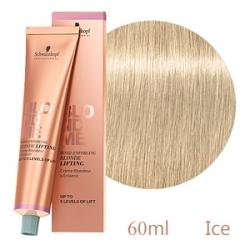 Schwarzkopf Professional BlondMe Lifting Ice - Осветляющий Бондинг-крем для волос Лёд 60 мл