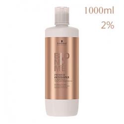 Schwarzkopf Professional BlondMe BM Premium Care Developer - Бальзам-окислитель 2% для осветляющих оттенков 1000 мл