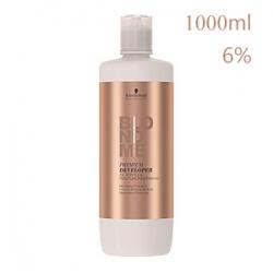 Schwarzkopf Professional BlondMe BM Premium Care Developer - Бальзам-окислитель 6% для осветляющих оттенков 1000 мл