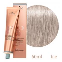 Schwarzkopf Professional BlondMe White Blending Ice - Осветляющий Бондинг-крем для седых волос Лёд 60 мл