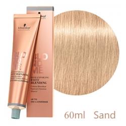 Schwarzkopf Professional BlondMe White Blending Sand - Осветляющий Бондинг-крем для седых волос Песок 60 мл