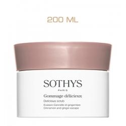 Sothys ProSPA Delicious Scrub Cinnamon And Ginger Escape - Изысканный Скраб для Тела с Корицей и Имбирем 200 мл