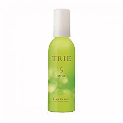 Lebel Trie Wave Milk 5 - Молочко для укладки  вьющихся волос средней фиксации 140 мл