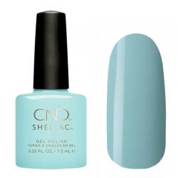 CND Shellac Taffy - Гель-лак для ногтей 7,3 мл пастельный мятно-бирюзовый оттенок, глянцевый, плотный