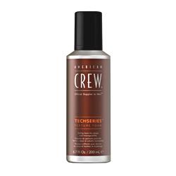 American Crew Techseries Texture Foam - Пена для укладки волос средней фиксации 200 мл