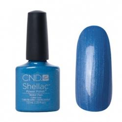 CND Shellac Гель-лак для ногтей Water Park 7,3 мл небесно-голубой с перламутром, эмаль.