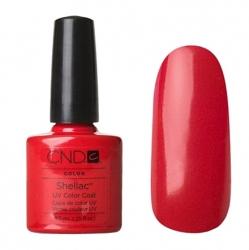 CND Shellac Гель-лак для ногтей Wildfire 7,3 мл красный классический.