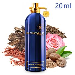 Montale Amber & Spices «Амбра и Специи» - Парфюмерная вода 20ml