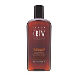 American Crew Power Cleanser Style Remover Shampoo - Шампунь для ежедневного ухода, очищающий волосы от укладочных средств 450 мл
