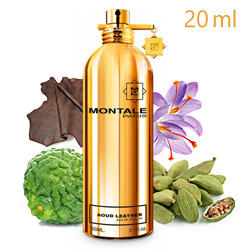 Montale Aoud Leather «Кожа и Уд» -  Парфюмерная вода 20ml