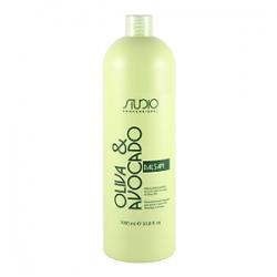 Kapous Studio Oliva & Avocado Бальзам увлажняющий для волос с маслами авокадо и оливы 1000 мл