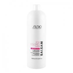 Kapous Studio - Бальзам для окрашенных волос с рисовыми протеинами и экстрактом женьшеня 1000 мл