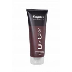 Kapous Life Color Бальзам оттеночный для волос Гранатовый красный 200 мл