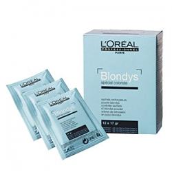L'Oreal Professionnel Blondys - Блондис осветляющий порошок усилитель для волос, 12*17 гр