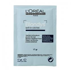 L'Oreal Professionnel Blondys - Блондис осветляющий порошок усилитель для волос, 1*17 гр