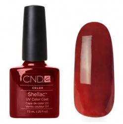 CND Shellac Burnt Romance - Гель-лак для ногтей 7,3 мл плотный коричневый (темно-терракотовый), эмаль.