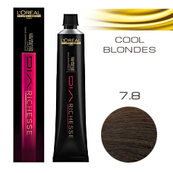 L'Oreal Professionnel Diarichesse - Краска для волос Диаришесс 7.8 Блондин мокко 50 мл